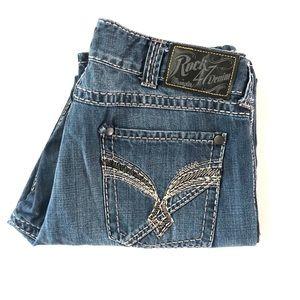 Rock 47 by Wrangler MRS47KO Men's Denim Jeans W36
